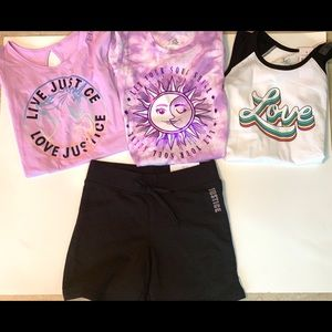 🌺🌺Bundle Sale-3-size 7 tops and 1 short